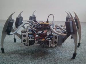 Crean una araña robótica para acceder a zonas difíciles