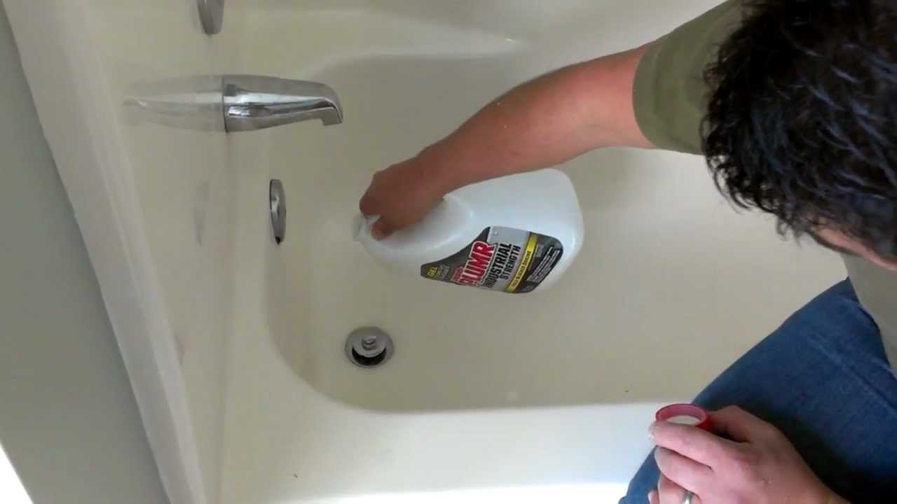 Como desatascar tu bañera