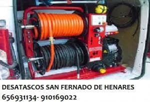 Desatascos San Fernando de Henares