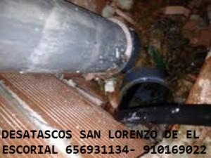 Desatascos San Lorenzo de el Escorial